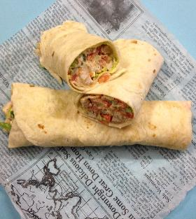 Charbroiled or Breaded Chicken Wrap