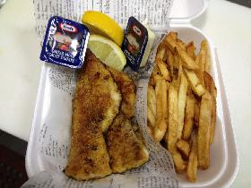 Fish and Chips (Pan Fried - Wicked Wecipe)